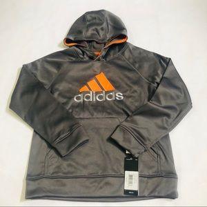NWT Adidas Boy Hoodie Sweatshirt Size M